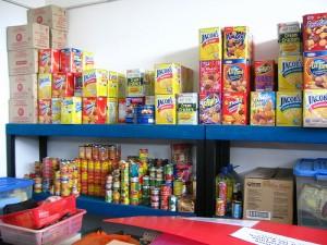 GCS Food Bank's warehouse
