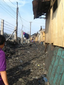 Make-shift Houses on the Dumpsite