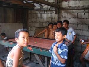 Children in the Dumpsite