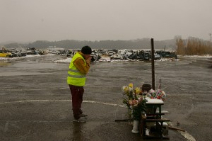 Charles Pays Respect to The People Who Lost Their Lives Here--A Year After the Tsunami