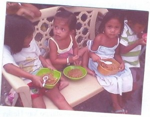 Caritas Manila Feeds 2,200 Malnourished Children