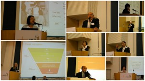 Speakers at Asia's First Food Bank Forum in Hong Kong