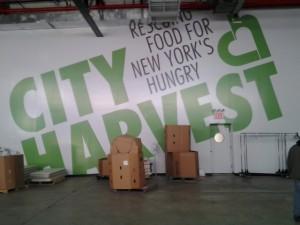 Volunteer Work Space in the Warehouse