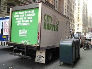 City Harvest's Truck in Manhattan