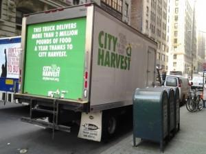 City Harvest's Truck in Manhattan