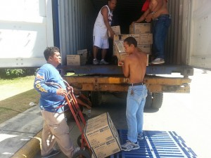 Our aid still continues in the disaster-hit area in the Philippines