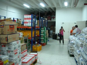 Food From the Heart's warehouse