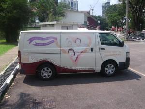FFTH's van