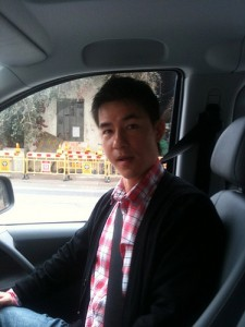 Feeding Hong Kong's Staff Member, Vincent, Took Charles on His Delivery Route