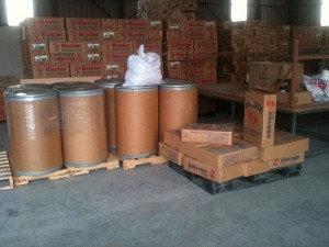 Soy Meals in Barrels and Other Items