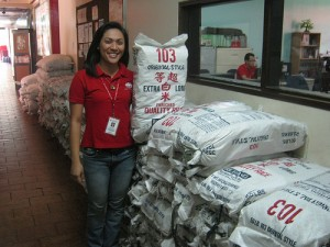 Caritas Manila Received Soy Meal from Second Harvest Japan