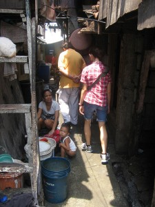 Squatter area in Pasay City