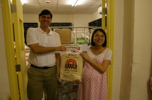 Food Bank Visit to St. Jame's Settlement People's Food Bank
