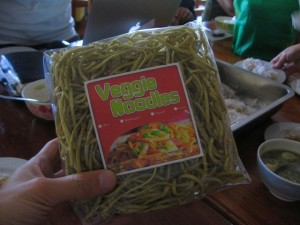Finished Okra Noodle